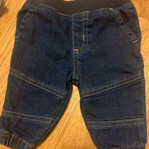 Baby boy jeans! 0-3 months!
